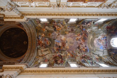 Andrea Pozzo, Church of St. Ignatius, 1685-1694. Rome.